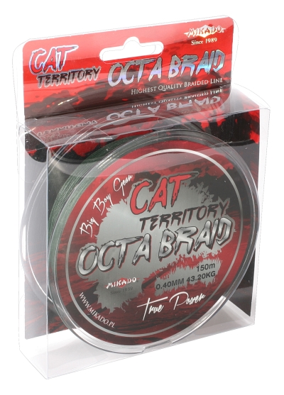 CAT TERRITORY OCTA BRAID 070 GREEN 150M