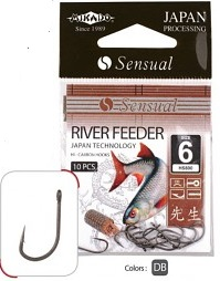 Háčiky SENSUAL - RIVER FEEDER No 6 DB - 10 ks