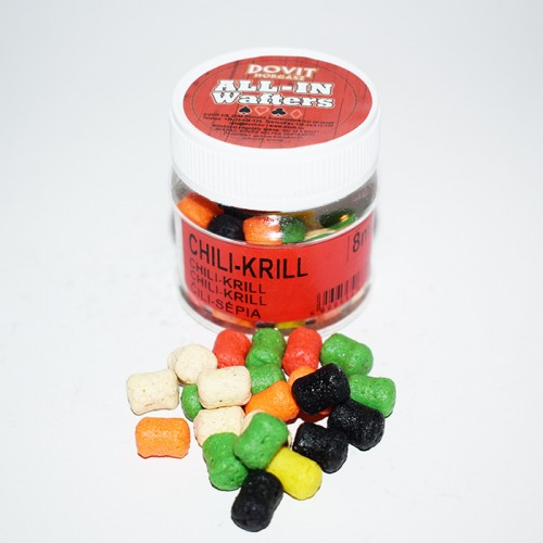 ALL-IN WAFTERS 8MM CHILI-KRILL